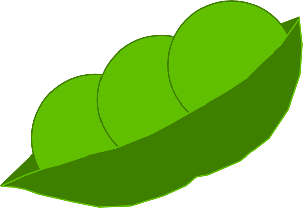 Cartoon Peas In A Pod Peas In A Pod Clip Art