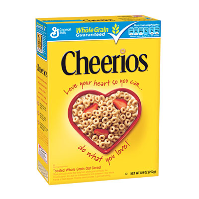 Cheerios Cereal Box Clip Art