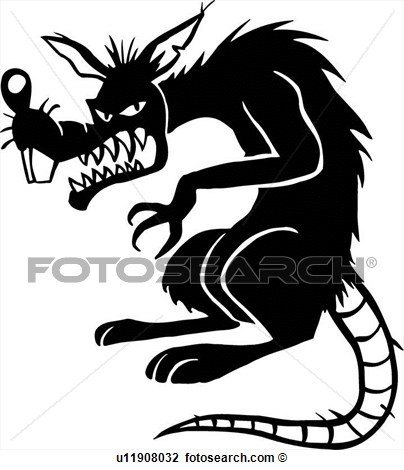 Evil Rat Clipart - Clipart Kid