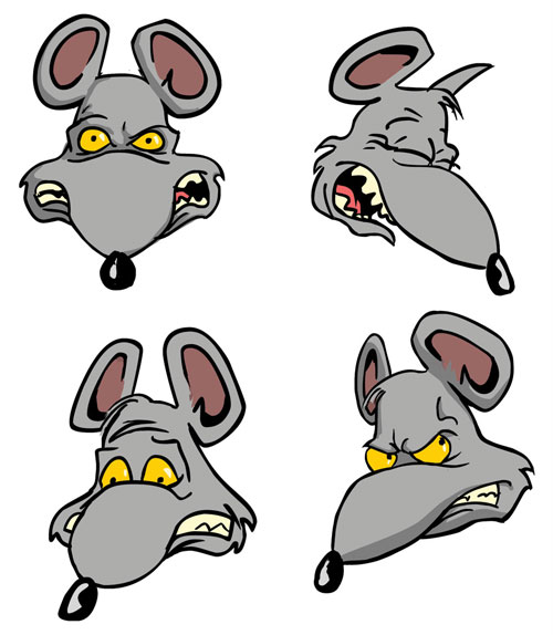 Evil Rat Clipart - Clipart Suggest