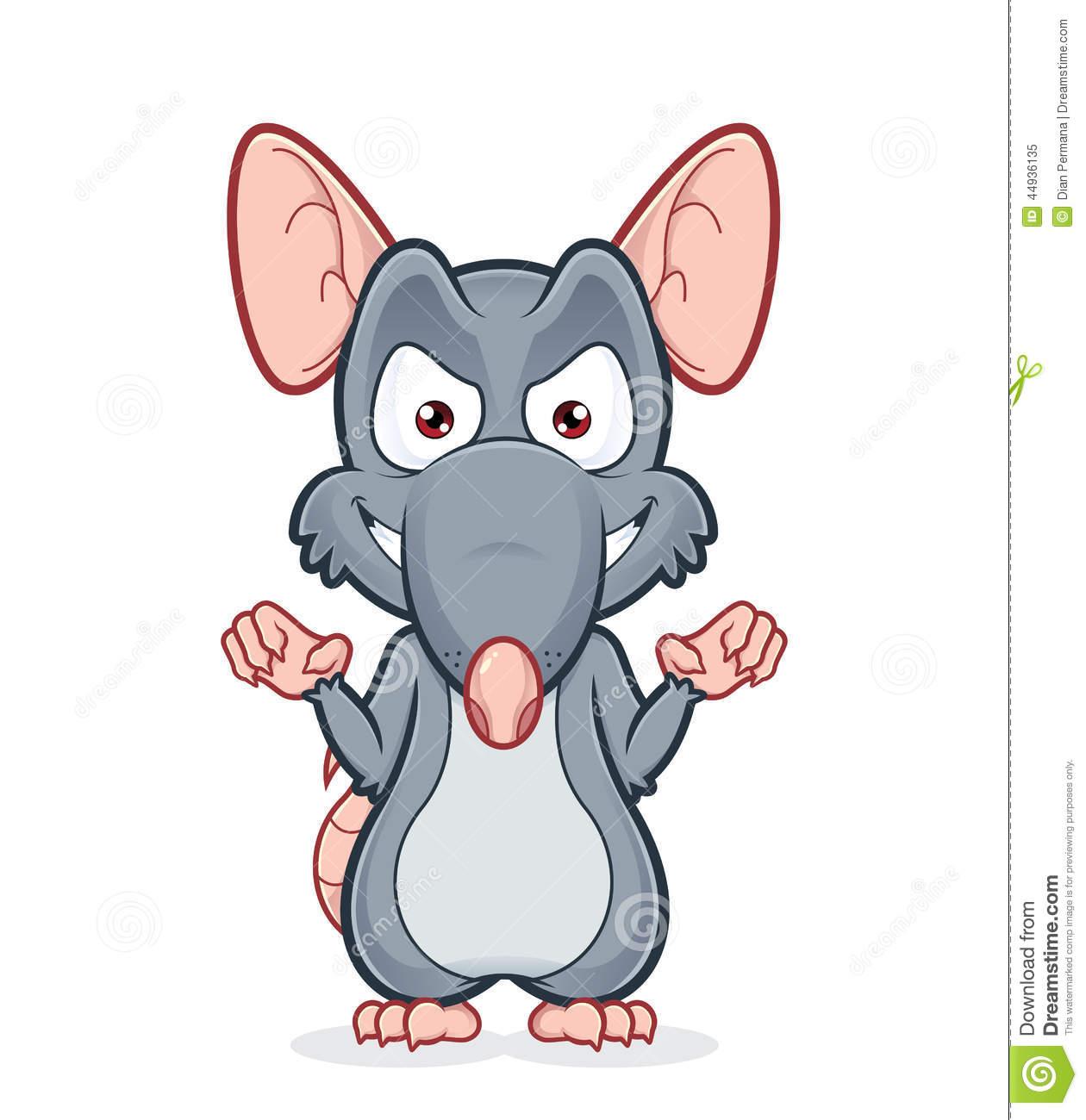 Evil Rat Clipart - Clipart Kid