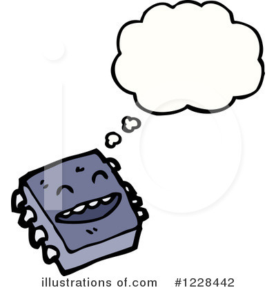 Royalty Free Rf Computer Chip Illustration 1228442 By Clipart