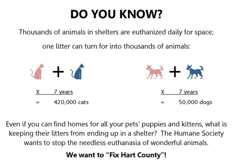 Spaying And Neutering  Spay Neuter Numbers
