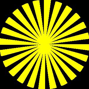 Clip Art Sunburst Clipart sunburst clipart kid yellow clip art at clker com vector online