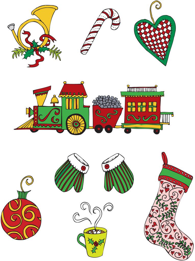 whimsical christmas tree clip art free - photo #31