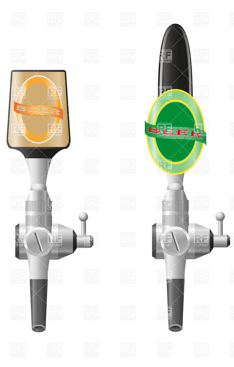 Bar Or Pub Equipment   Beer Faucets 19130 Download Royalty Free