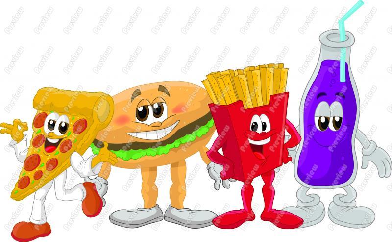 Food Web Clipart - Clipart Kid