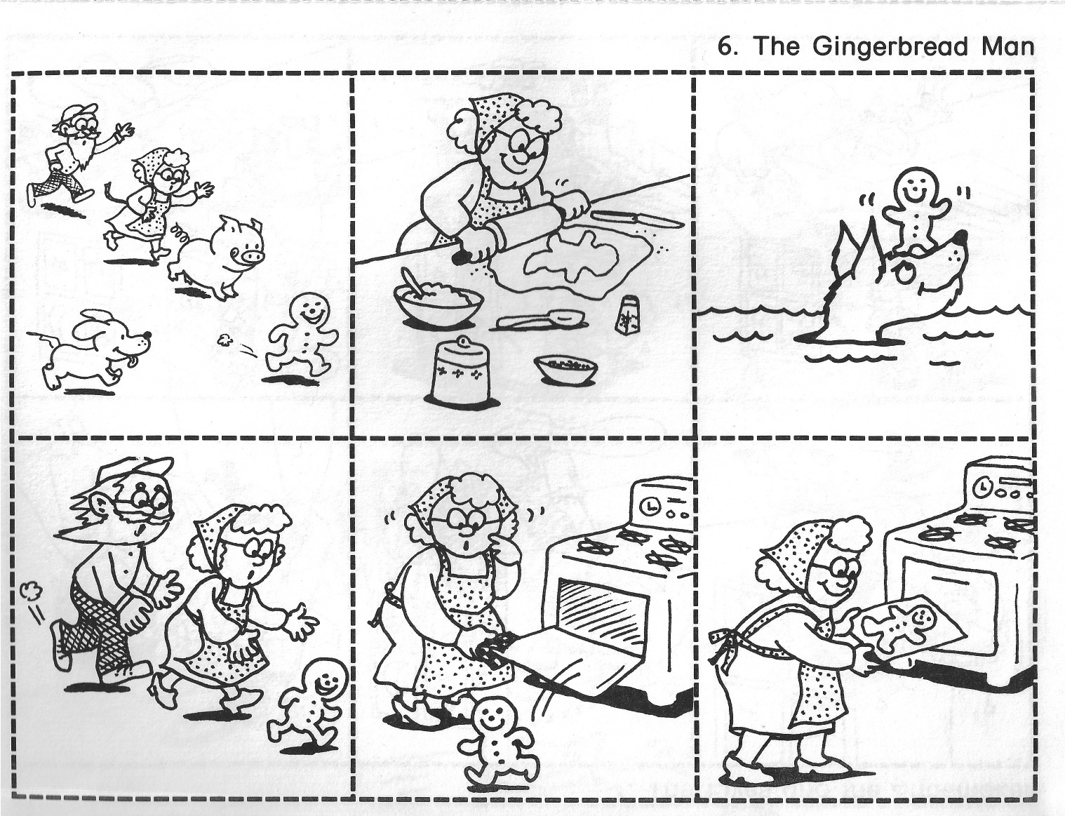 Sequence Of Pictures That Tell A Story For Kids story sequence clipart ...