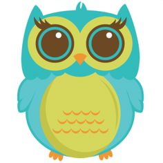 Owl Clip Art On Pinterest   Scrapbook Kit Clip Art And Owl Pillows