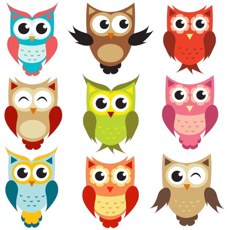 Owl Clipart   Being A Wise Owl  Via