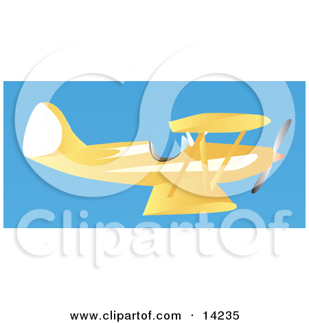 Royalty Free  Rf  Biplane Clipart Illustrations Vector Graphics  1