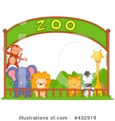 Royalty Free Zoo Clipart Illustration 432916 Jpg