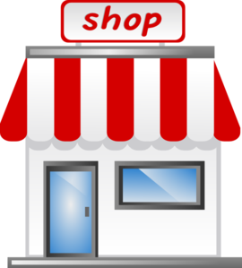 Showroom Clipart Shop Front Icon Md Png