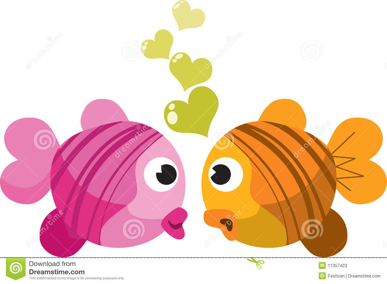 Image gallery kissing fish love for I love the fishes