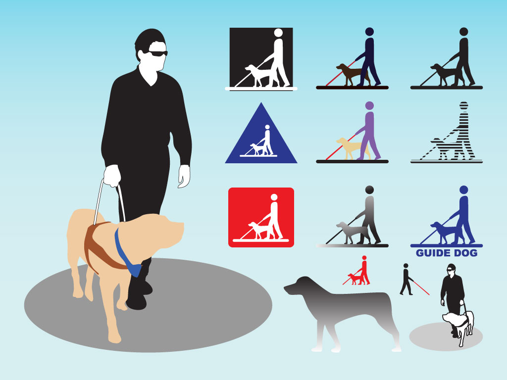 Guide Dog Clipart Guide Dog Pack