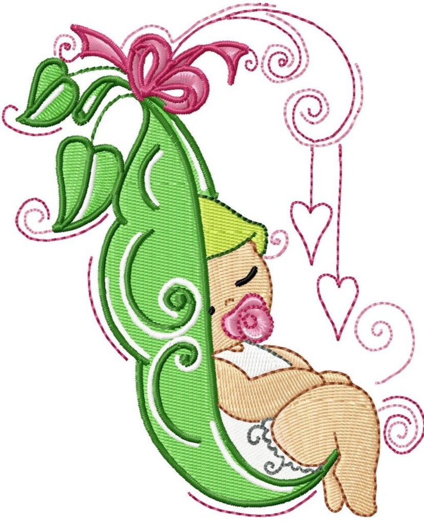 Home All Clip Art Sweet Pea Baby Clip Art