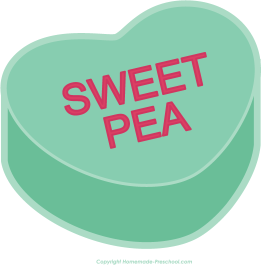 Home Free Clipart Valentine Heart Clipart Valentine Heart Sweet Pea