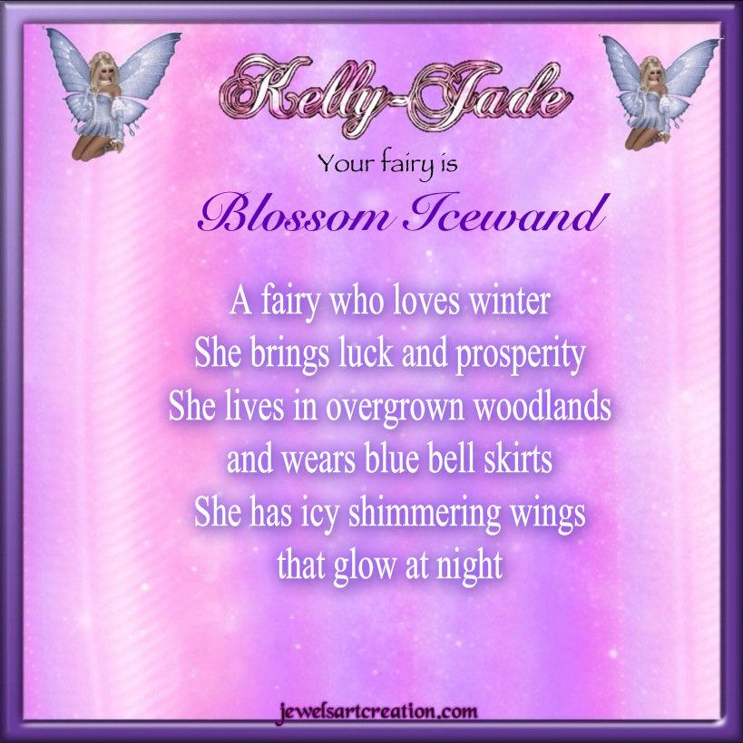 Kelly Jade Fairy Name   Jewels Art Creation