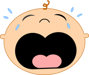 Image result for free clipart baby crying