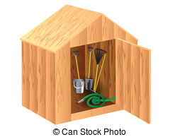 Storage Shed Illustrations And Stock Art  84 Storage Shed Illustration