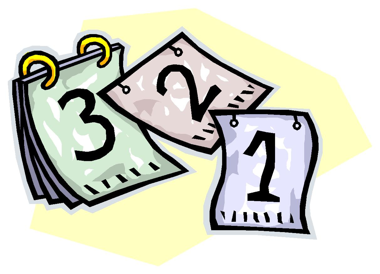 Last Day Countdown Clipart - Clipart Kid