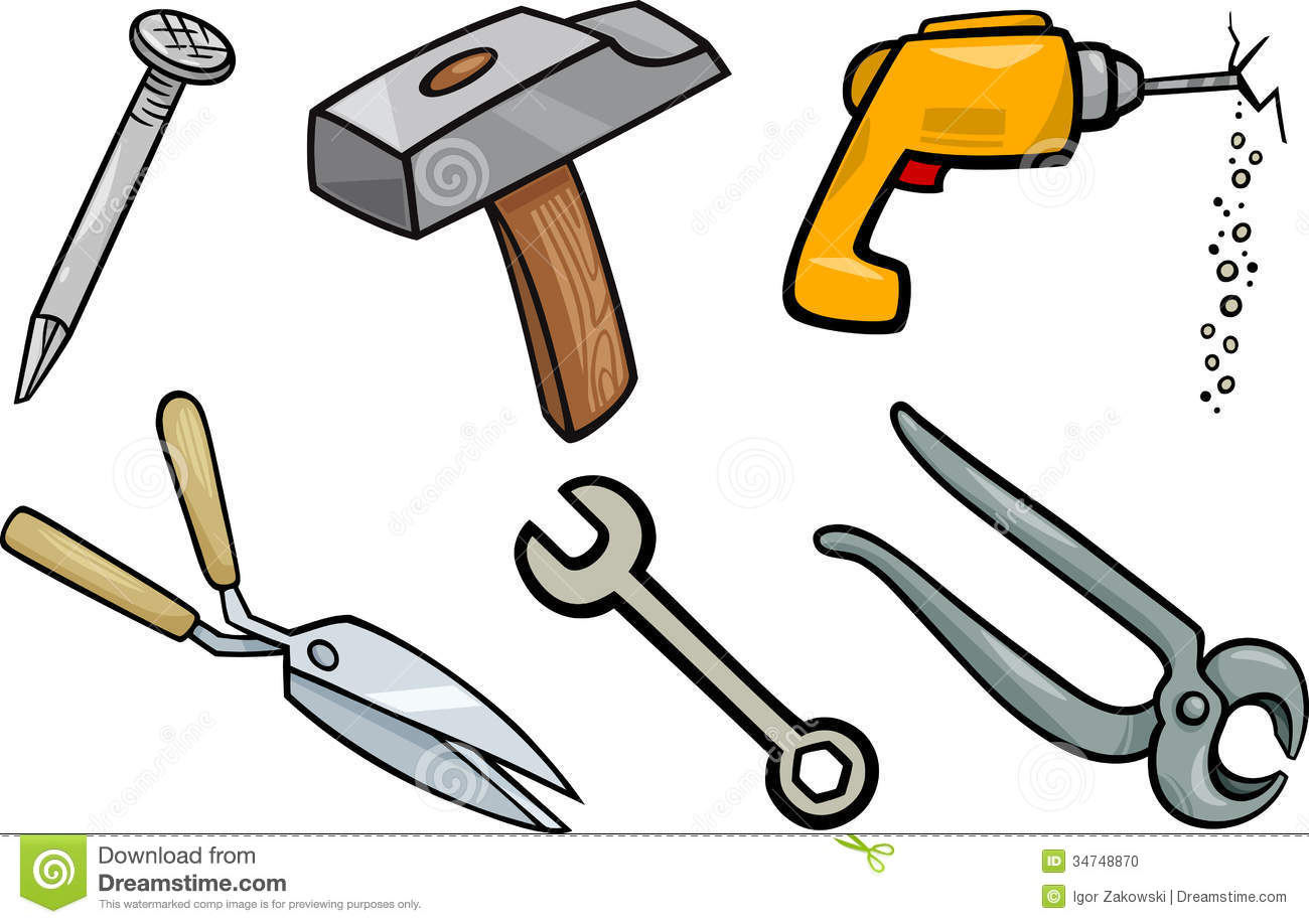 Construction Tools Black And White Clipart - Clipart Suggest  Construction