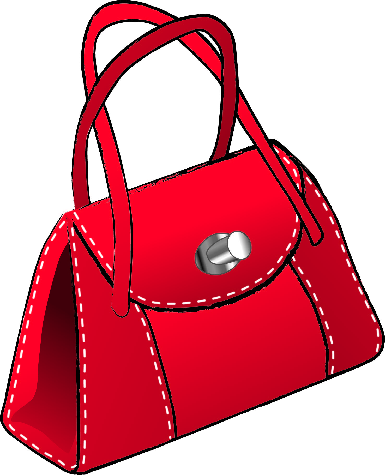 Handbag Purse Clipart - Clipart Kid