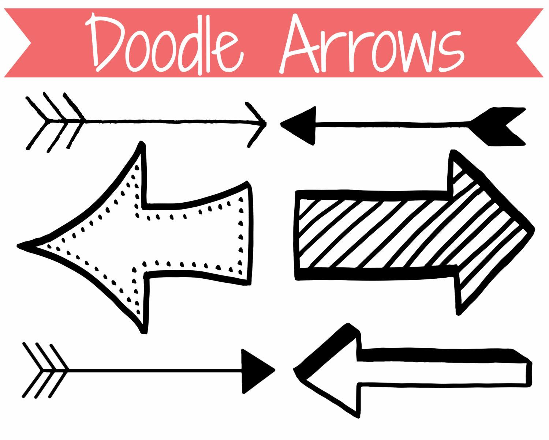 Arrow Clip Art Doodle Arrows Clip Art