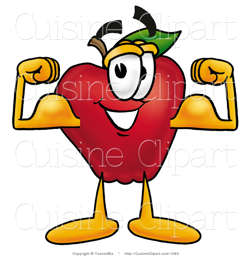 Body Building Bicep Clipart Clip Art