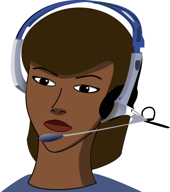 Call Centre By Peileppe   Call Centre Agent Remix Of 2 Cliparts