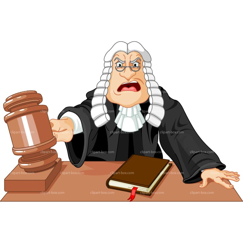 Judge Clipart - Clipart Suggest