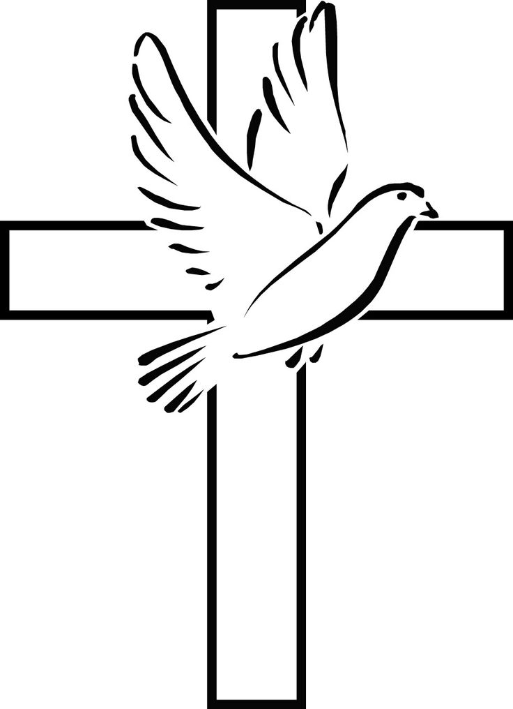 Cross And Dove Clipart - Clipart Kid