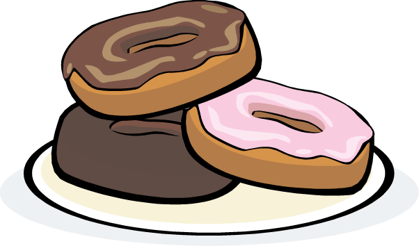 Donut Clip Art Free   Clipart Panda   Free Clipart Images