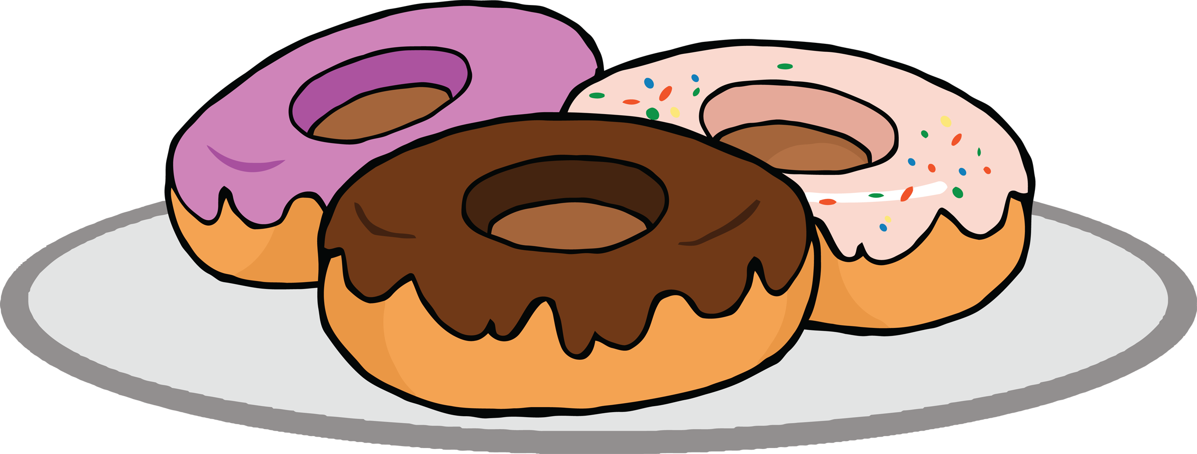 Donut Clipart - Clipart Kid