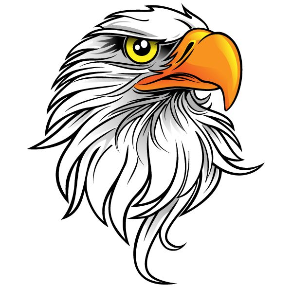 Eagle Head Clipart   Clipart Panda   Free Clipart Images