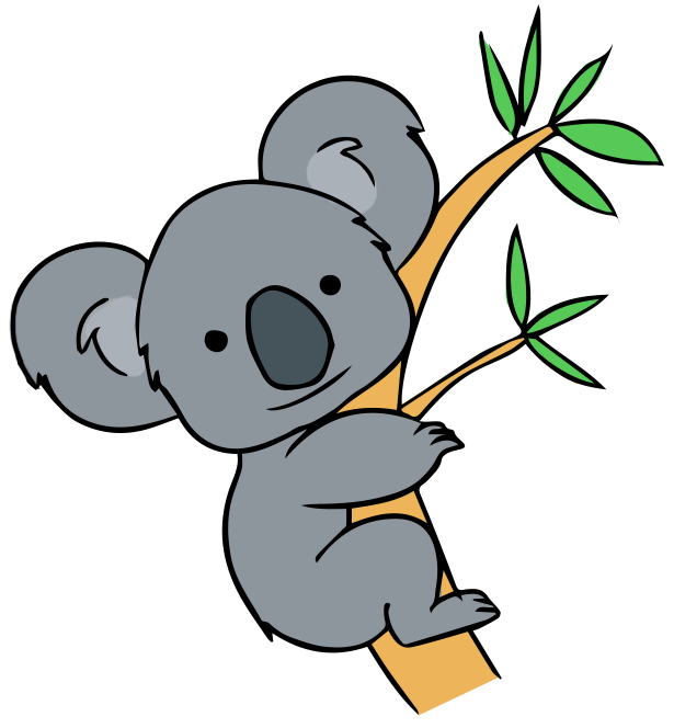 Koala Cartoon Clipart - Clipart Kid