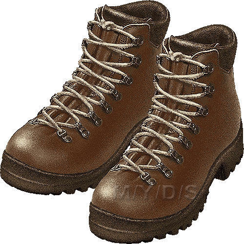 Hiking Boots Clipart   Free Clip Art