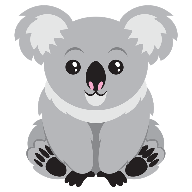 Koala Bear Clip Art This Lovable Koala Clip Art Is