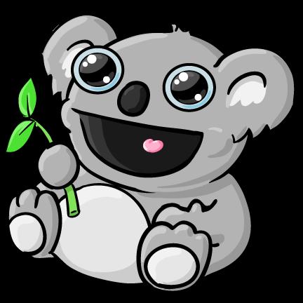 Koala Cartoon Clipart - Clipart Kid