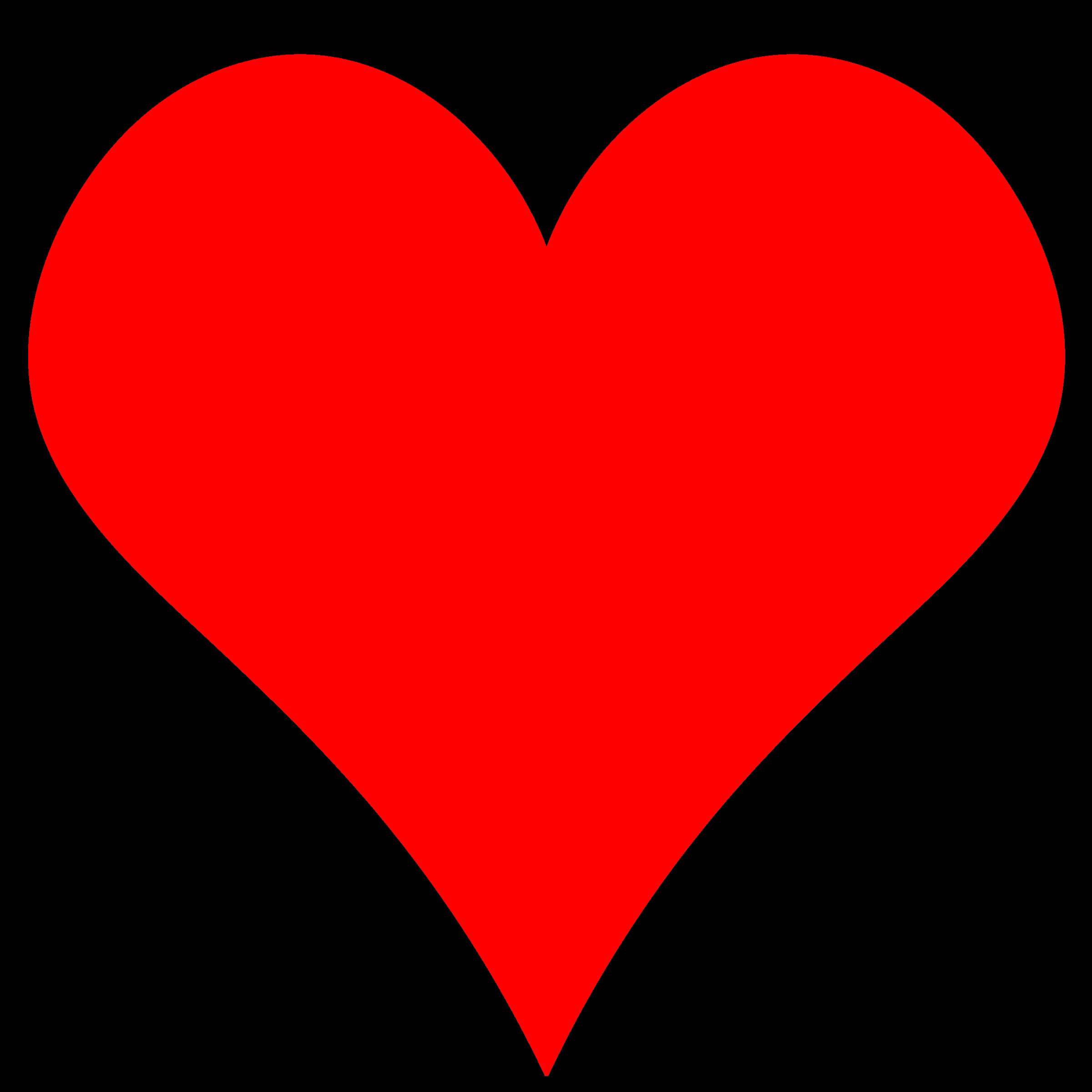 Clip Art Heart Shape Clipart red heart shape clipart kid plain by gr8dan