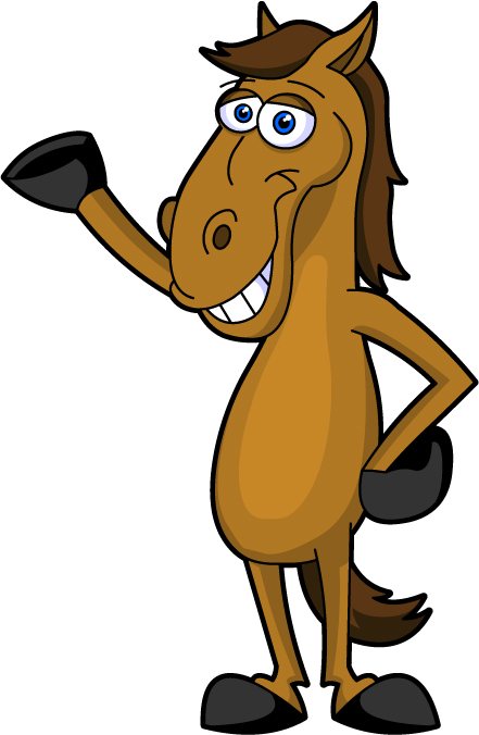 Published May 8 2013 At 441   676 In A165c Cartoon Horse Clipart