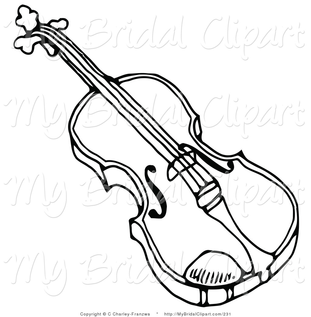 Royalty Free Viola Stock Bridal Clipart Illustrations
