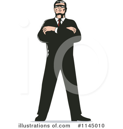 Secret Agent Clipart  1145010 By Patrimonio   Royalty Free  Rf  Stock