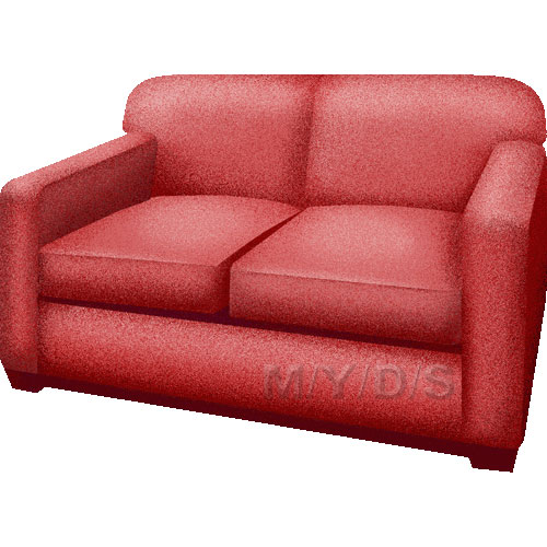 Settee Clipart Picture   Large
