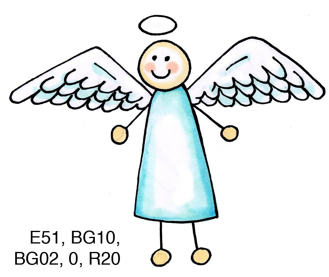 Clip Art Clipart Angel simple angel outline clipart kid graphic