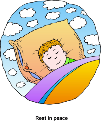Sleep Clipart Restful Sleep
