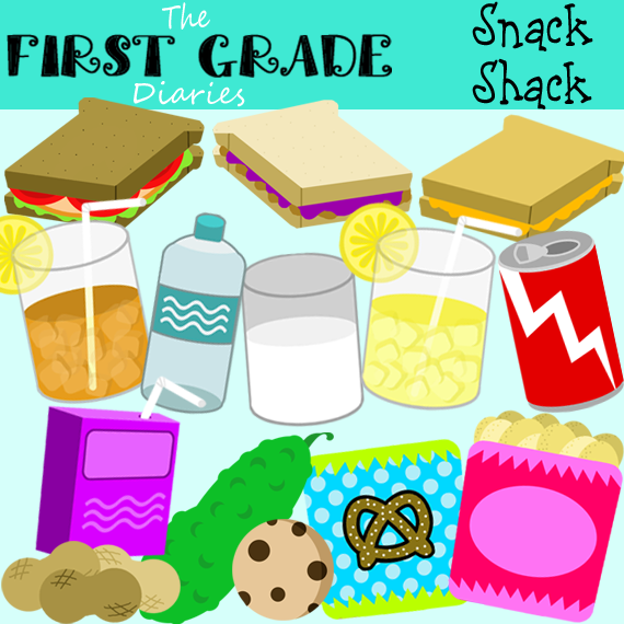 Snack Food Clip Art Http   Thefirstgradediaries Blogspot Com 2012 03