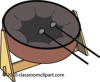 Steel Drums Clipart Or Pan Musical Instrument Clipart Headline Steel