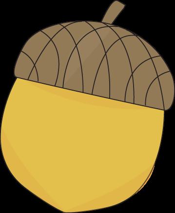 Clip Art Acorn Clip Art acorn clipart kid yellow clip art image autumn with a brown cap