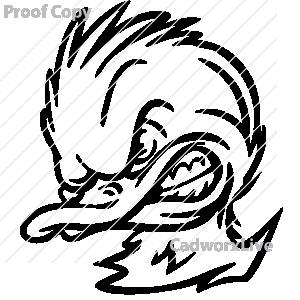 mean duck clipart clipart suggest